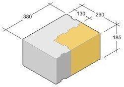 Leca Design harkko LTH-380 sisäkulma