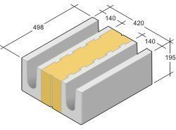 Leca Design harkko LTP-420 palkki