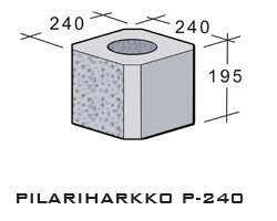 Leca Pilariharkko P-240