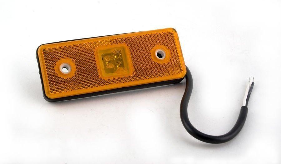 Led-Äärivalo Oranssi 4
