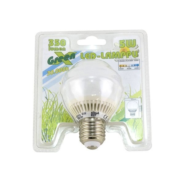 Led-Lamppu 5w E27 30 000h Lexxa Greenx