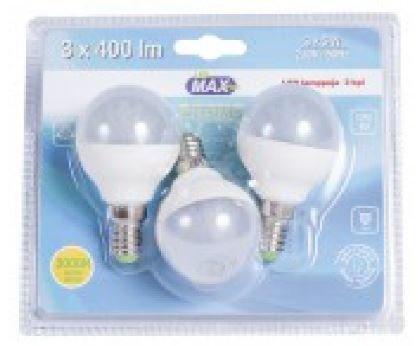 Led-Lamppu E14 5w 3kpl Led Max
