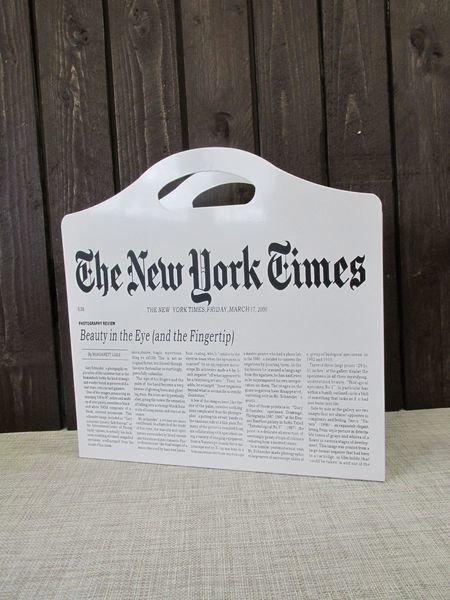 Lehtiteline Sanomalehti-Aihe 39x1x39cm 4living