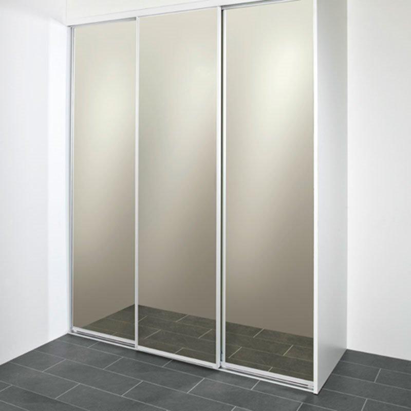 Liukuovi 200 Pronssisävytetty peili