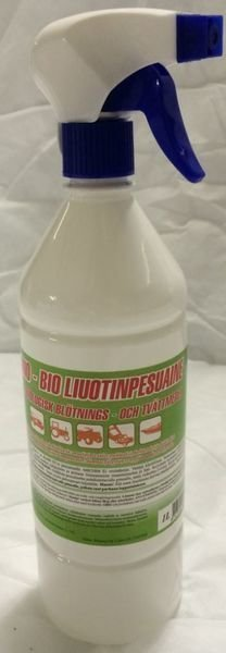 Liuotinpesuaine 1l Spray Nano-Bio