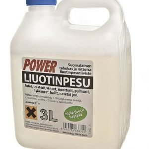 Liuotinpesuaine 3l Power