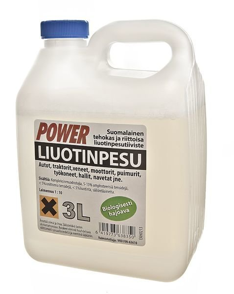 Liuotinpesuaine 3l Power
