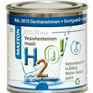 Maali Gentiansininen Ral5010 250ml Maston H2o!