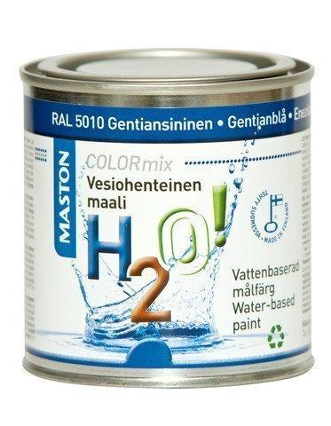 Maali Gentiansininen Ral5010 250ml Maston H2o!