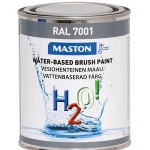 Maali Hopeanharmaa Ral7001 1l Maston H2o!