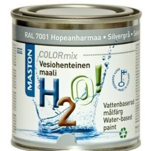 Maali Hopeanharmaa Ral7001 250ml Maston H2o!
