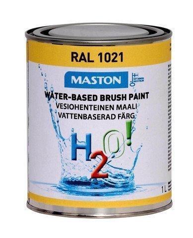 Maali Rypsinkeltainen Ral1021 1l Maston H2o!