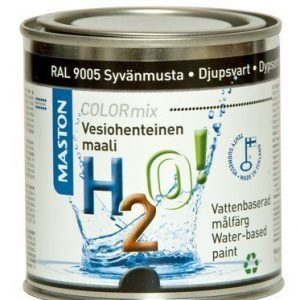 Maali Syvänmusta Ral9005 250ml Maston H2o!