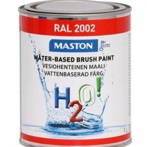 Maali Verenpunainen Ral2002 1l Maston H2o!