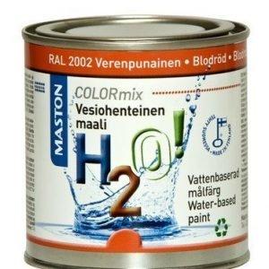 Maali Verenpunainen Ral2002 250ml Maston H2o!