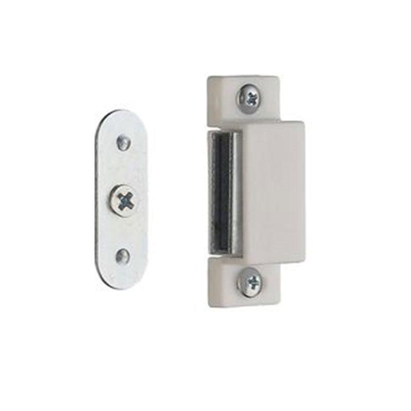 Magneettilukko 2 kpl Beslagsboden B301 Valkoinen