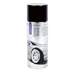 Maston Automix Glossyblack Spray Spraymaali 400 Ml