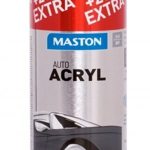 Maston Automix Mattblack Spray Spraymaali 400 Ml