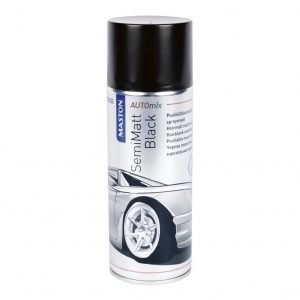 Maston Automix Semimattblack Spray Spraymaali 400 Ml