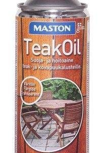 Maston Teak Oil Puuöljy 450 Ml