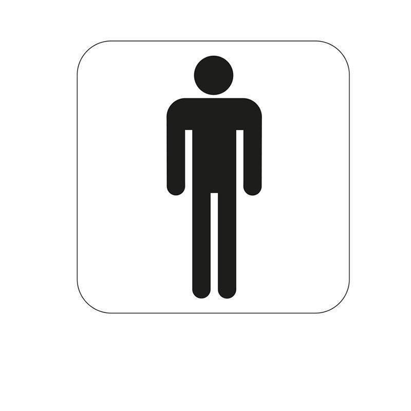 Merkki Habo miesten WC Valkoinen|Musta