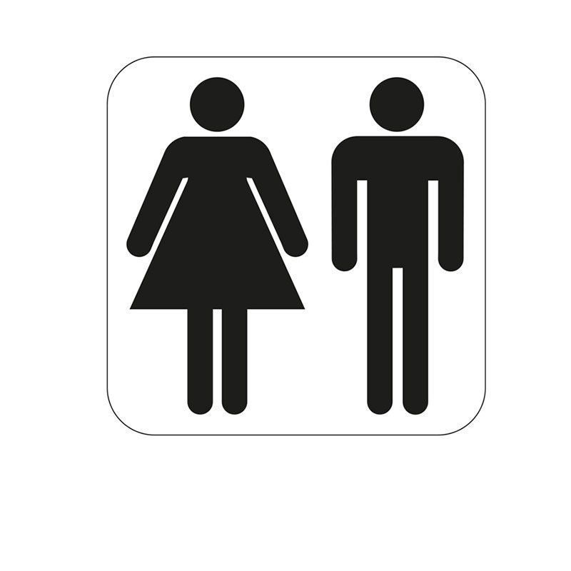 Merkki Habo yhteis-WC Valkoinen|Musta