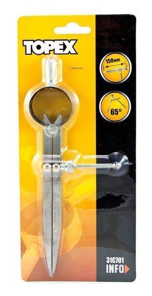 Metalliharppi 150mm 65 Astetta Topex