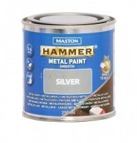 Metallimaali 250ml Hopea Maston Hammer
