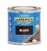 Metallimaali 250ml Musta Maston Hammer