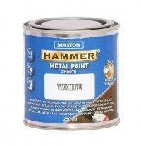 Metallimaali 250ml Valkoinen Maston Hammer