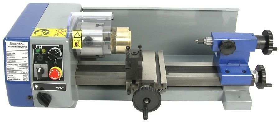 Metallisorvi Mini 140mm Steeltec