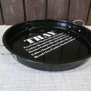 Metallitarjotin 34x34x5cm Tray