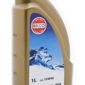 Mineraalimoottoriöljy 15w-40 1l Belco