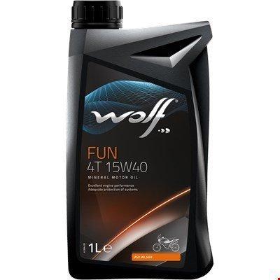 Moottoriöljy 2-T 1l Wolf
