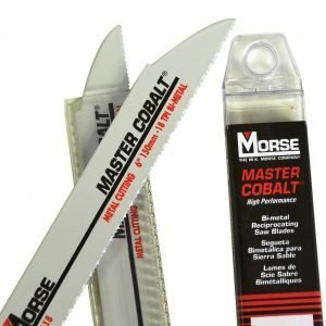 Morse Puukkosahanterä Metallille