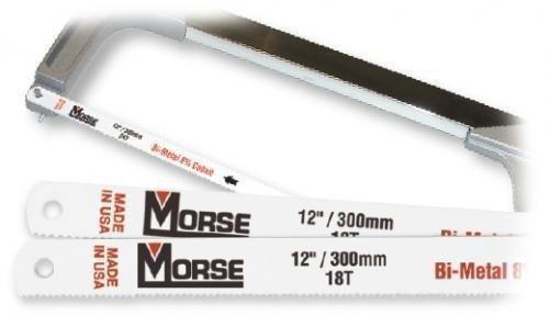 """Morse Rautasahanterä 12"""" 300 Mm"""