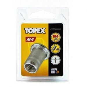Mutteriniitti 20kpl M4 Topex