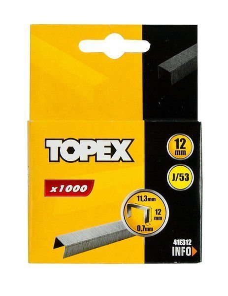 Nitojan Niitti 12mm 1000kpl J/53 Topex