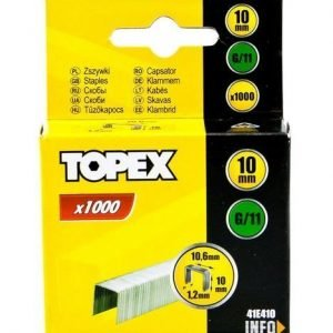 Nitojan Niitti G/11 10mm 1000 Kpl Topex