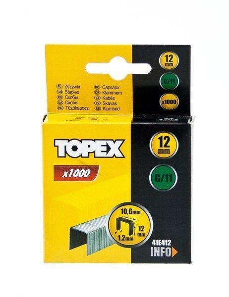 Nitojan Niitti G/11 12mm 1000 Kpl Topex