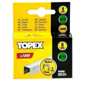 Nitojan Niitti G/11 8mm 1000 Kpl Topex