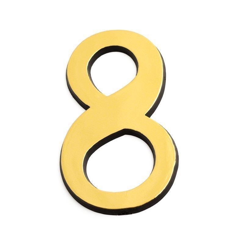 Numero 8 463 75mm Kulta