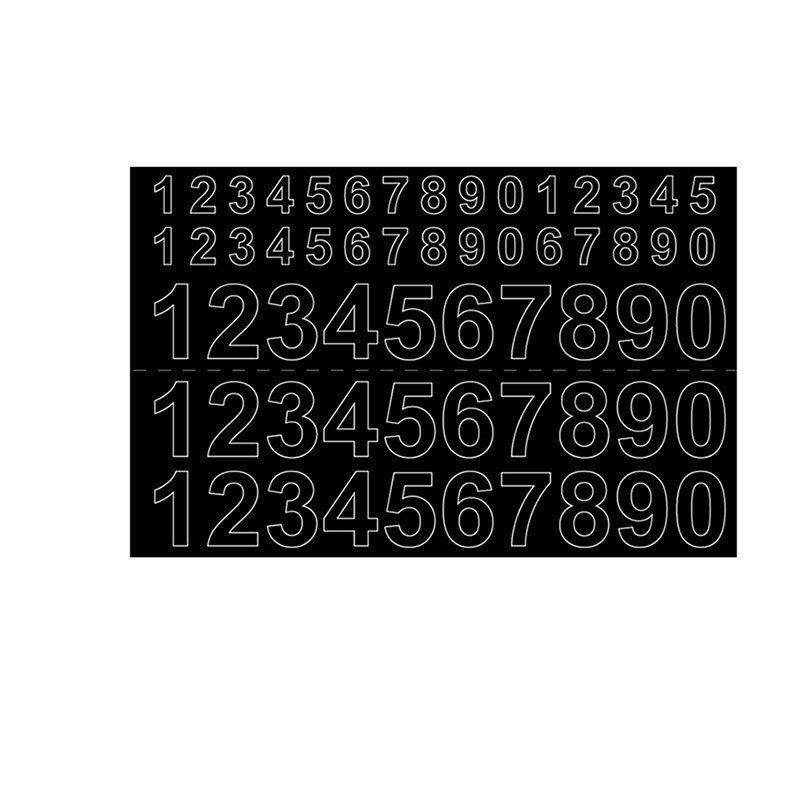 Numerot Habo GVINYL13-26 Musta
