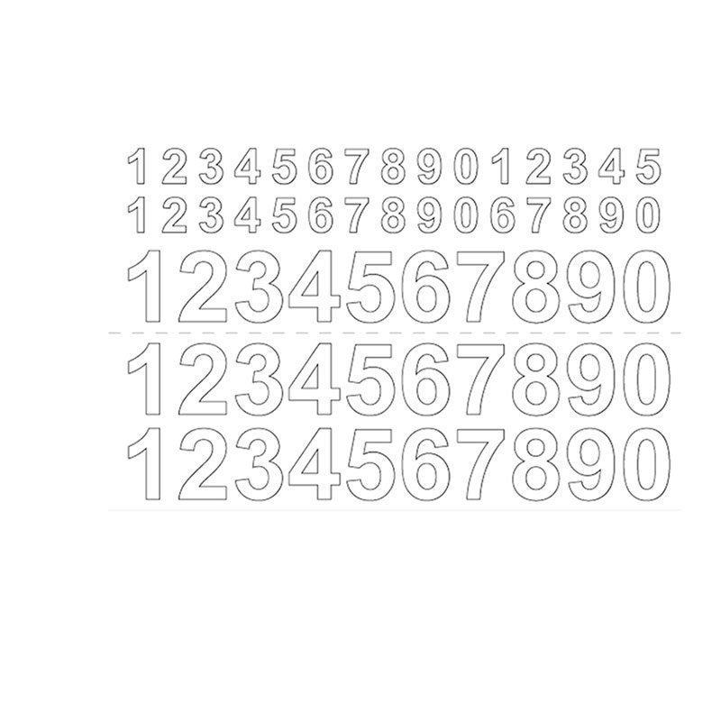 Numerot Habo GVINYL13-26 Valkoinen