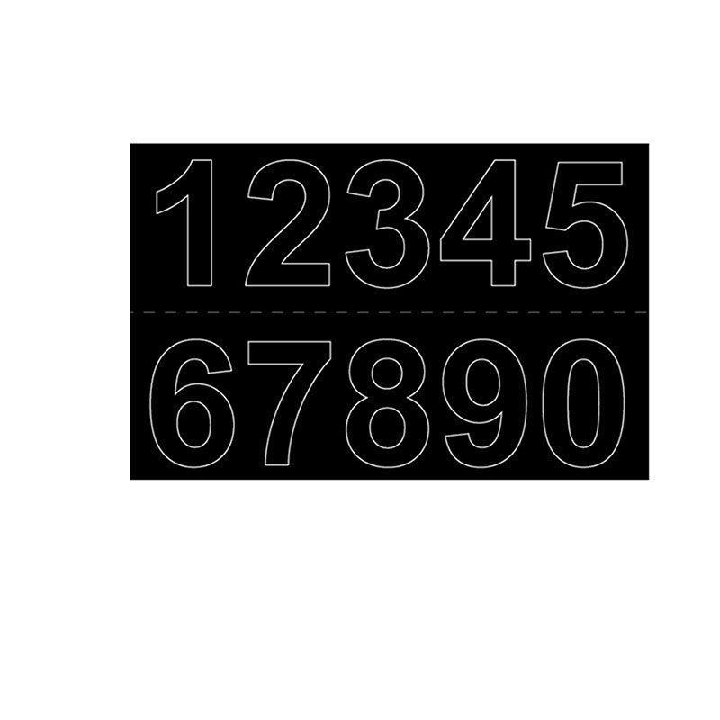 Numerot Habo GVINYL50 Musta
