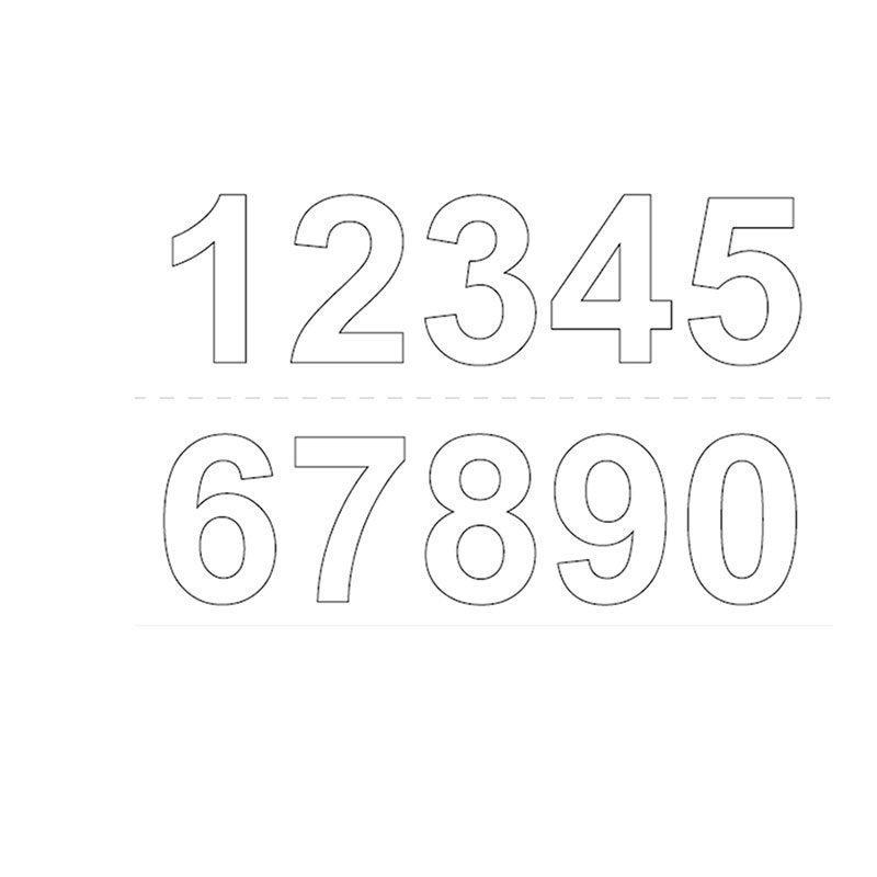 Numerot Habo GVINYL50 Valkoinen