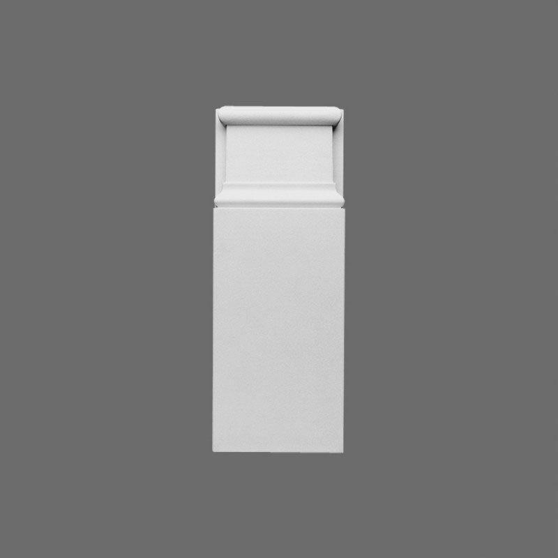 Ovi- ja seinäkoriste D310 Valkoinen