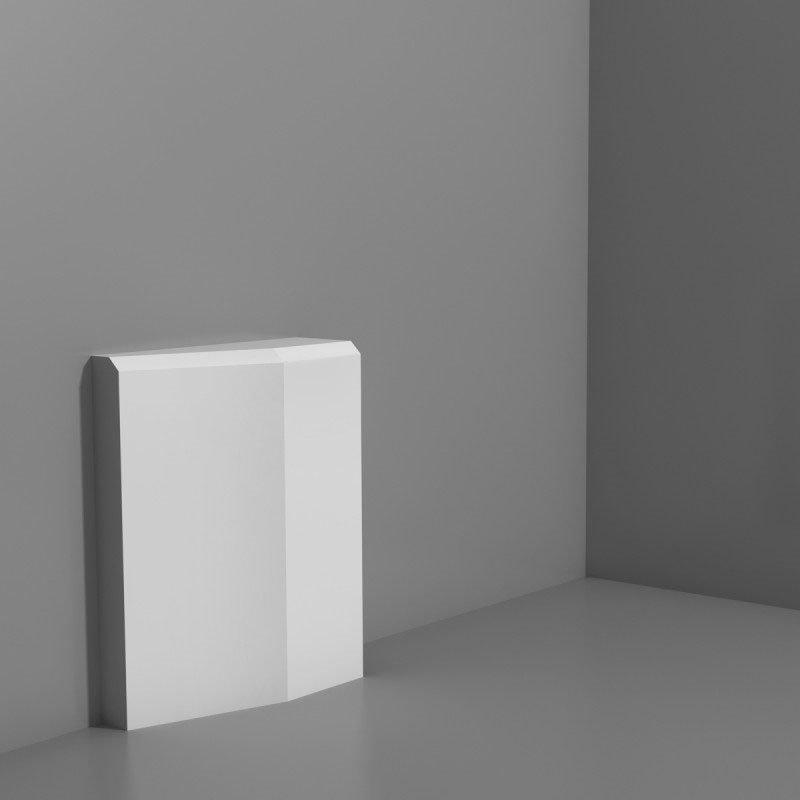 Ovi- ja seinäkoriste D330LR Valkoinen