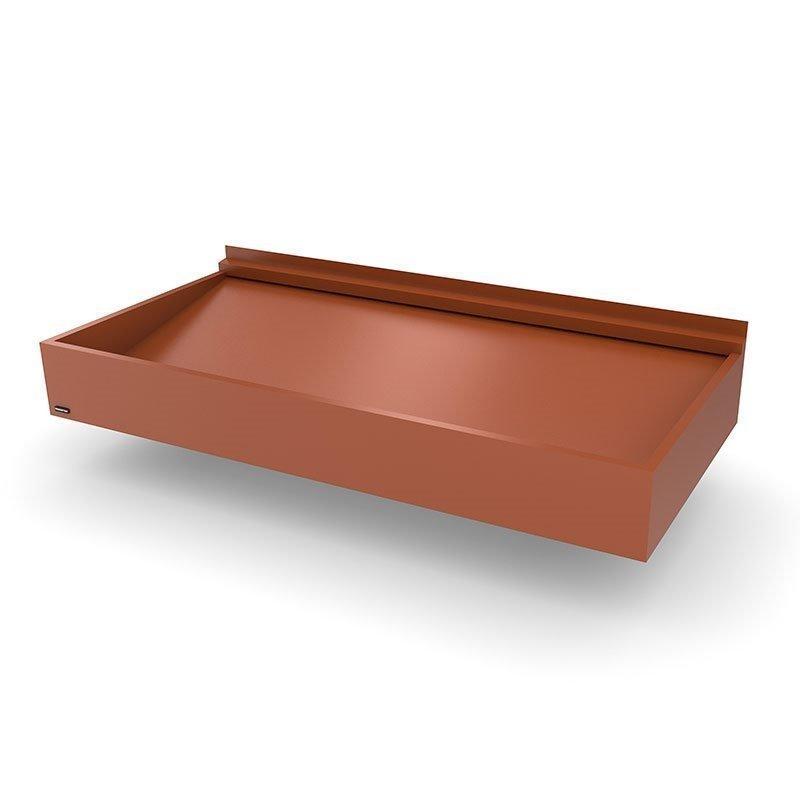 Ovikatos Box Classic Tiilenpunainen