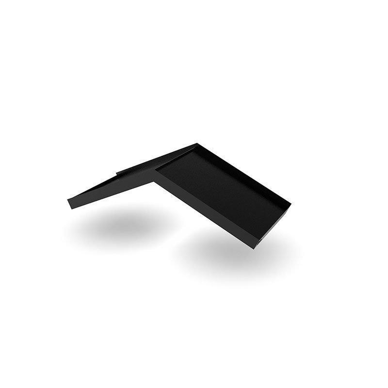 Ovikatos Simple Angled Musta